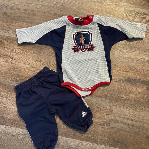 Cleveland Cavaliers 6-9mo. Outfit